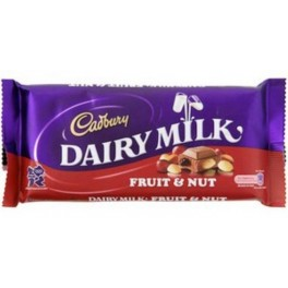 CADBURY DAIRY MILK FRUIT & NUT 95g.