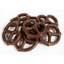 MILK CHOCOLATE COATED PRETZELS 150g