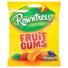 ROWNTREE FRUIT GUMS 150g