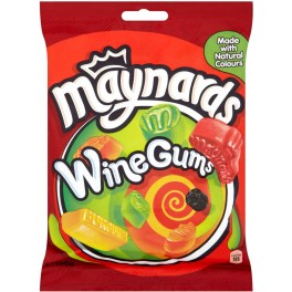 MAYNARDS WINE GUMS 165g.