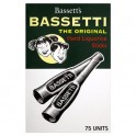 BASSETTI HARD LIQUORICE STICKS 75pce