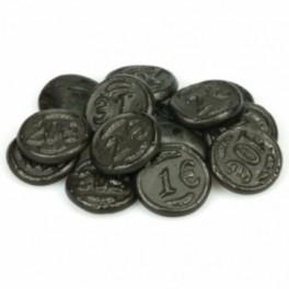 SALT LIQUORICE COINS 200g.