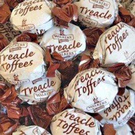 WALKERS TREACLE TOFFEE 175g.