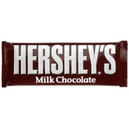HERSHEY'S MILK CHOCOLATE BAR 43g.